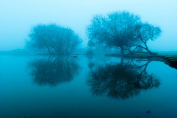 Misty Reflection by southpole