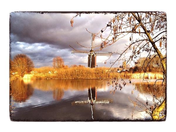 Maasmolen Windmill by conrad