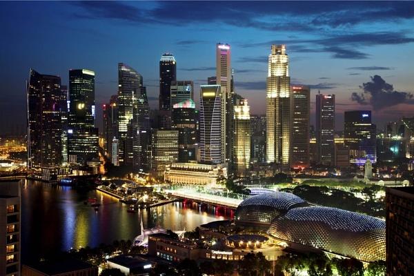 Marina Bay Singapore by DanG