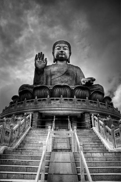 Giant Buddha, Hong Kong by DanG
