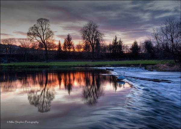Sunday Sunset by Mstphoto
