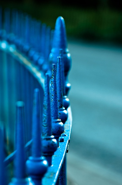 blue railings by luckybry