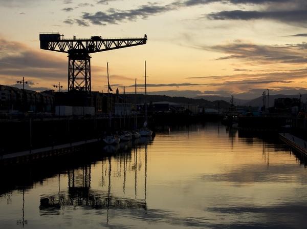 Sunset at Greenock by Irishkate