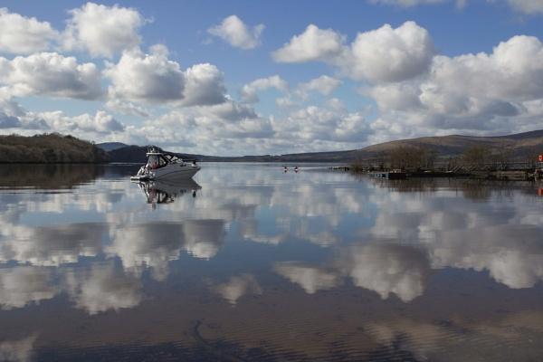 Loch reflections by killiekrankie