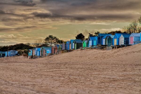 Beach Huts, Abersoch by stevew10000