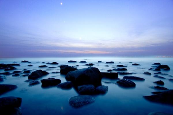 Blue ocean by Smejkal