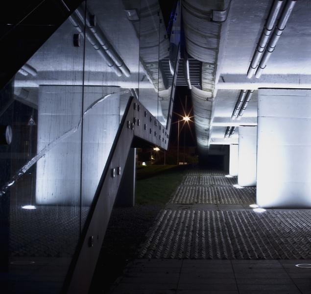 Under The Infinity Bridge Stockton On Tees