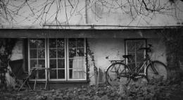 Devon Chair and Bike