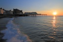 Sunset in Aberystwyth by piccy