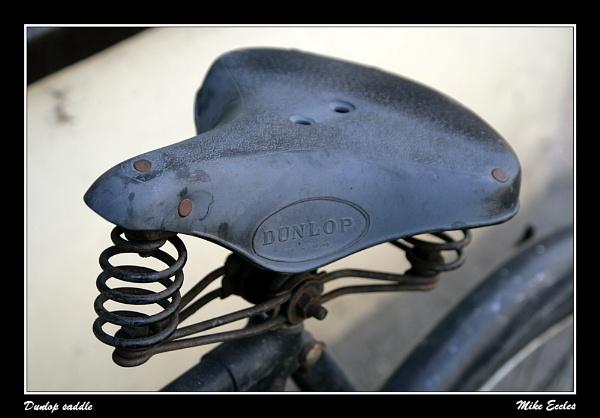 Dunlop saddle by oldgreyheron