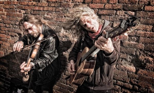Street Musicians by Platchet