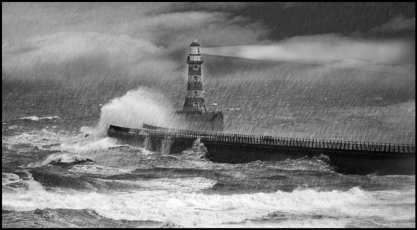 Storm at Sea by RobertH
