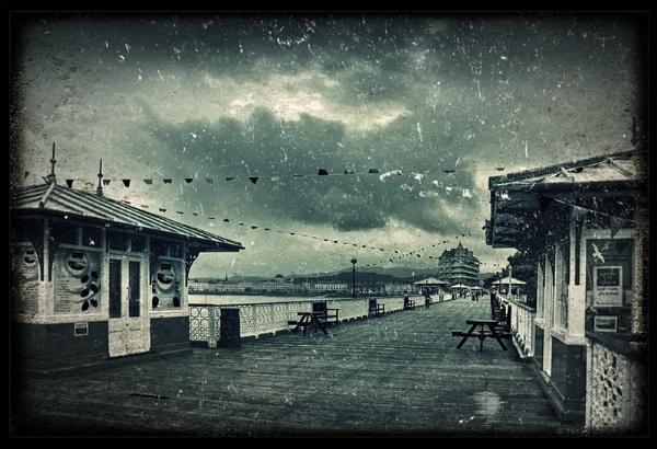 Llandudno Pier by Pamella