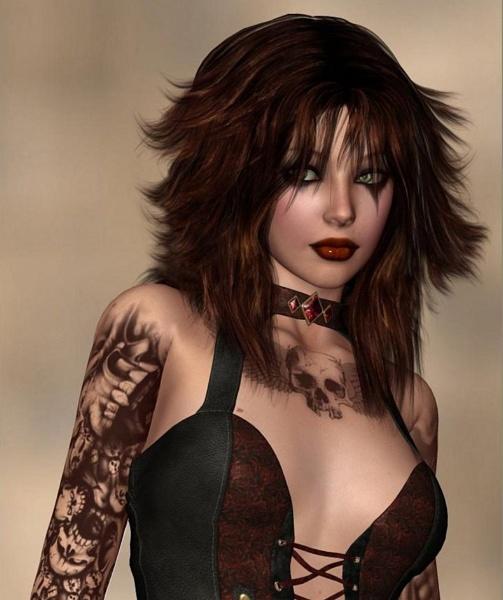 Goth by leginR