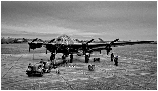 Lancaster Bomber (Just Jane) by malleader