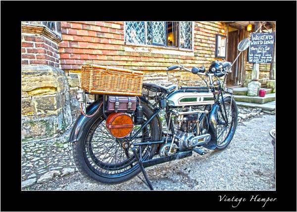 Vintage Hamper