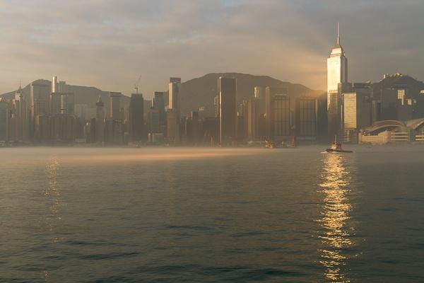 Early Morning Sunlight Hong Kong by Artful_Dodger