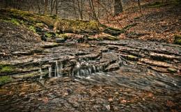 Shibden Valley stream