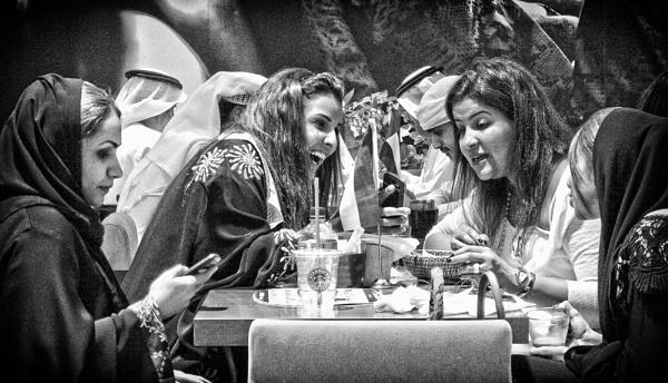 Arabian friends by luceombra