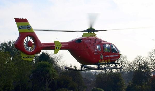 Cornwall Air Ambulance by carpmanstu