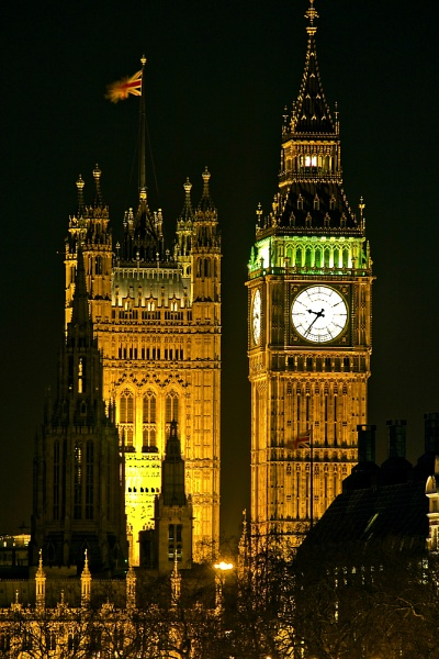St. Stephens Tower (Big Ben) by Neddy