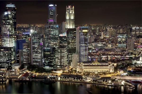 Marina Bay, Singapore by DanG
