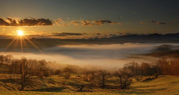 Gascon Sunrise II by Escaladieu