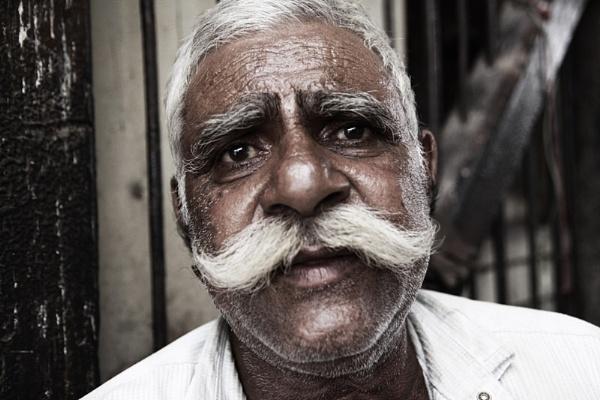 Handlebar Moustache by Ezo