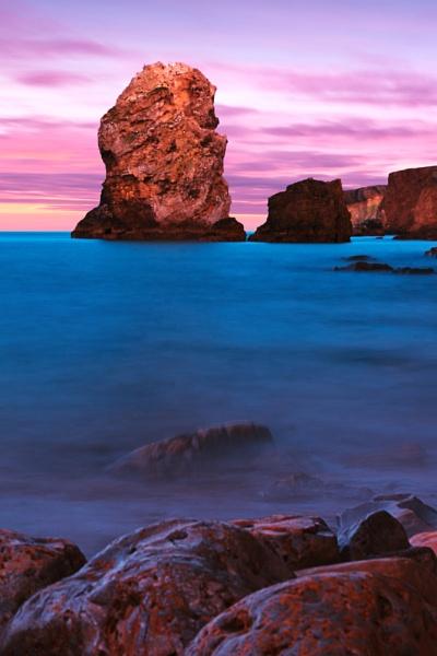 Marsden sunset 2 by Blakey_Boy