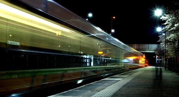ghost train...... by soulsharer