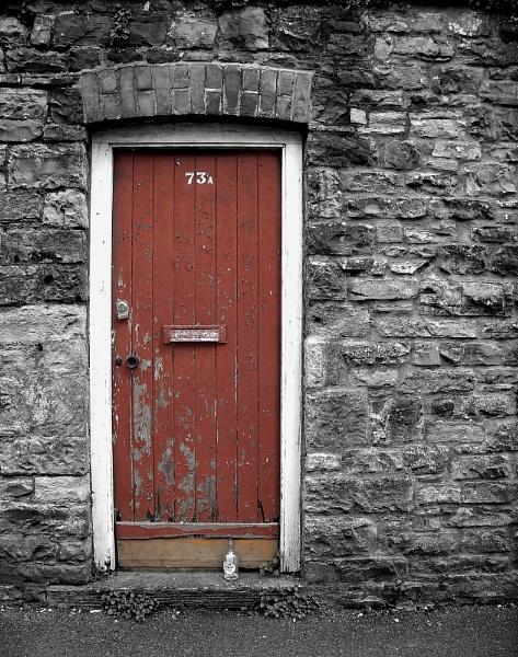 Door, Bottle, Stone by SimonAlesbrook
