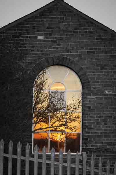 Reflective sunset by rotella