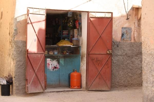 Corner shop, Morocco by Gillygems