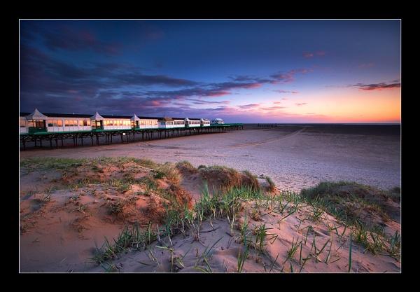 Sandy Sunset by jeanie