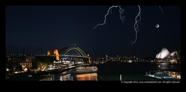 Sydney by Night by Birte