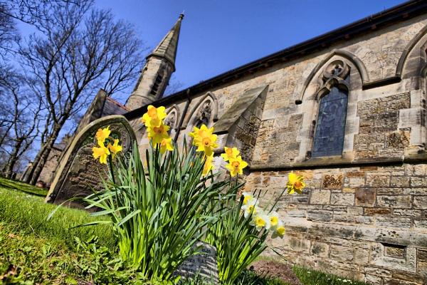 St. Thomas Church by jokinarnya