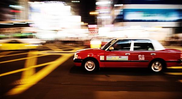 Hong Kong Taxi by DanG