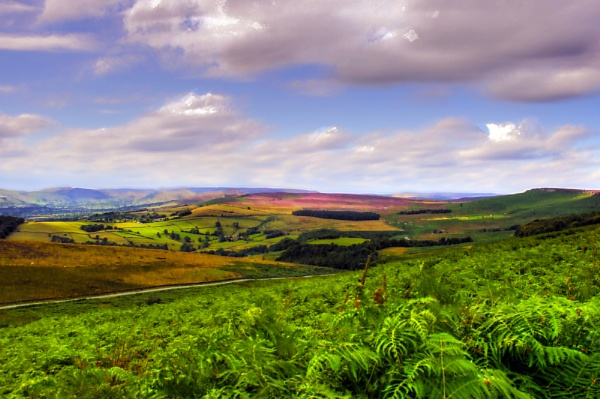The colors of the Peak District by ian9106
