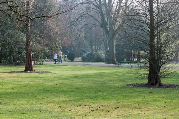 Walk in the Park by HuntedDragon