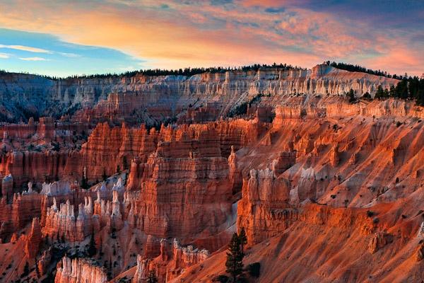 Dawn light illuminating Bryce Canyon by Phil_Bird