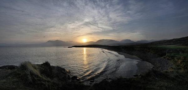 Panoramic sunrise by kiwi3636
