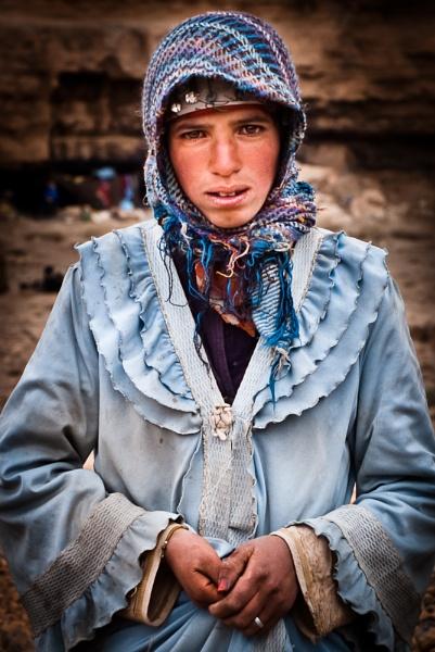 Amazigh Girl by Kim Walton