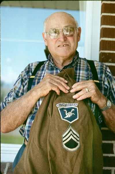 Sergeant Rulen Ladle, Bushmaster. by Carlkuntze