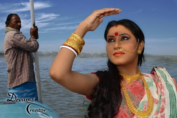 Kolkata - River - Hoogly by indrasish