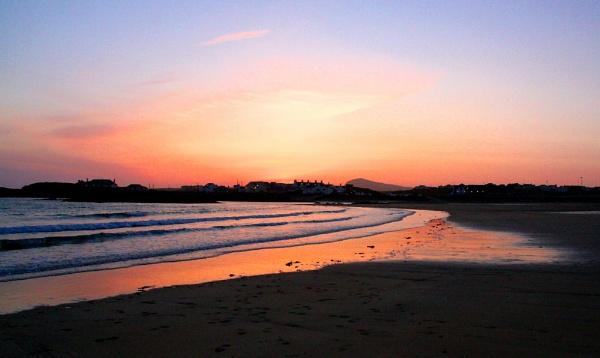 trearddur bay sunset by pks