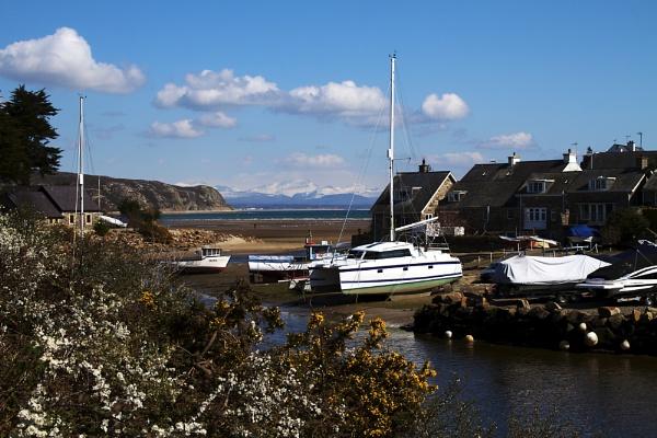 Abersoch Inner Harbour by stevew10000