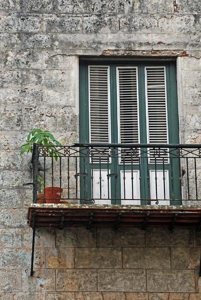 A balcony in Havana by Hulme