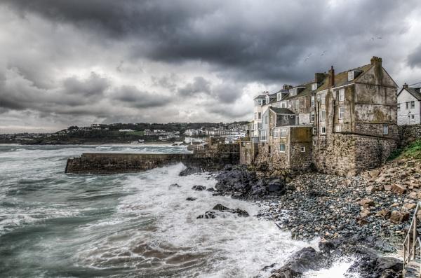 Stormy Seas in St. Ives by JamesFarley