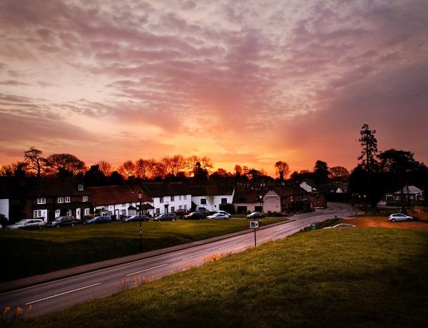 Sunrise over Kenilworth by Carl_Gough