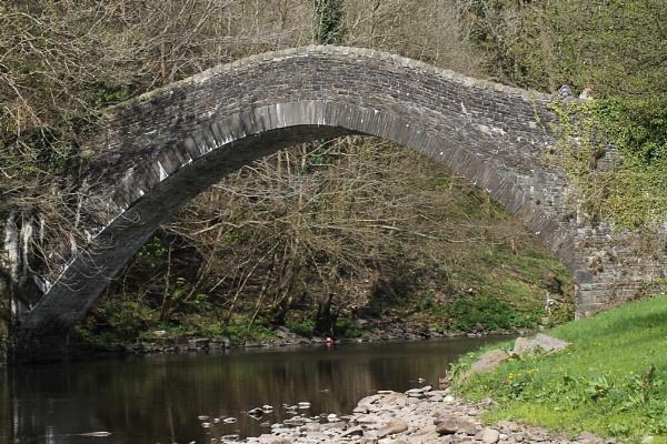 Pont -Y- Gwaith Bridge by LiamBull